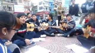 Du ca Hải Dương, liên khúc Thu éo - Xa - Yên bình, ngày 27/01/2013