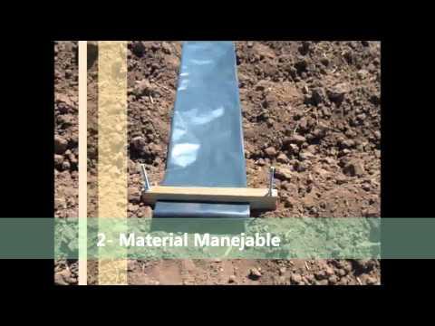 Sistema de Riego por Gravedad con Mangas y Multicompuertas