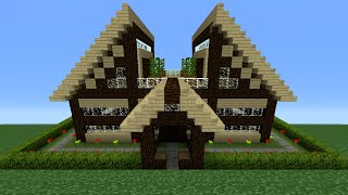 Minecraft How To Build A Medium Sized Wooden House Mp3