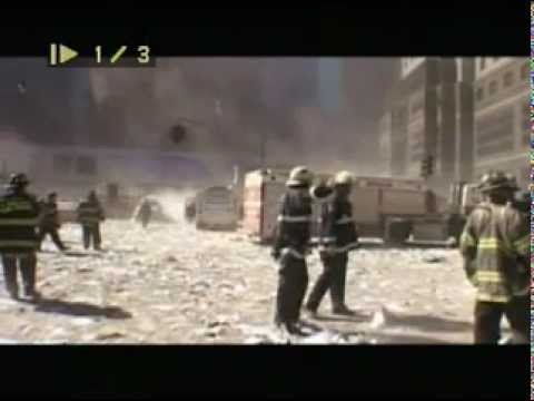 9-11-2001 Footage, WTC Collapse, NYFD, Dust...