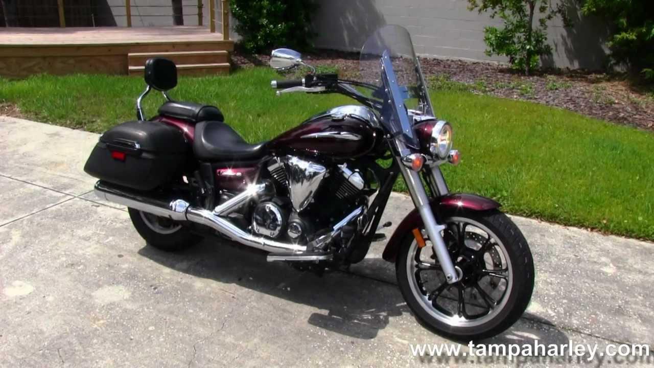 Used 2009 yamaha xvs 650 v star for sale in florida youtube for Yamaha dealer tampa