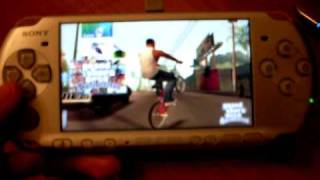 GTA San Andreas On PSP
