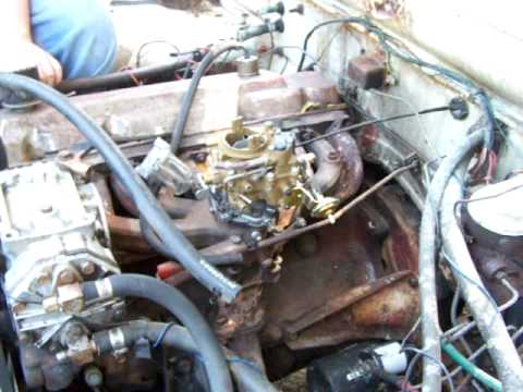 1987 dodge ram engine diagram 225 slant six carb youtube  225 slant six carb youtube