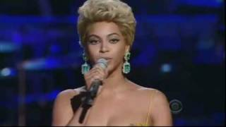 Beyonce singing the Etta James Classic 'At Last' view on youtube.com tube online.