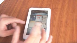 Test Et Avis Tablette Lenovo Ideatab A3000
