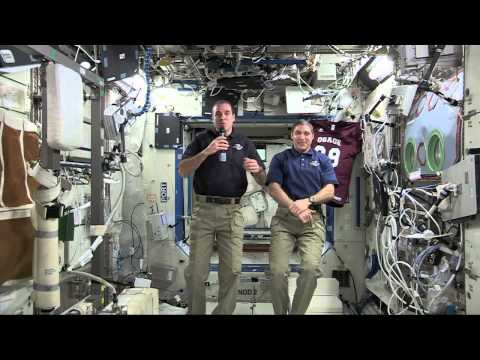 International Space Station Crew Discusses Life in Space with Missouri Students