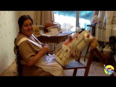Encaje de Bolillos con Adela Arébalo