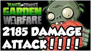 Plants vs. Zombies Garden Warfare - OMG BIGGEST ATTACK EVER!! Gameplay Walkthrough (1080p HD)
