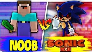 THỬ THÁCH Troll NOOB Bằng SONIC.EXE Trong Minecraft!!