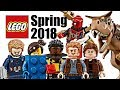 Top 10 Most Wanted LEGO Sets of Spring 2018