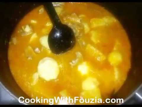 Aloo Gosht Ka Salan Meat and Potato Curry ( Fouzias Cooking )