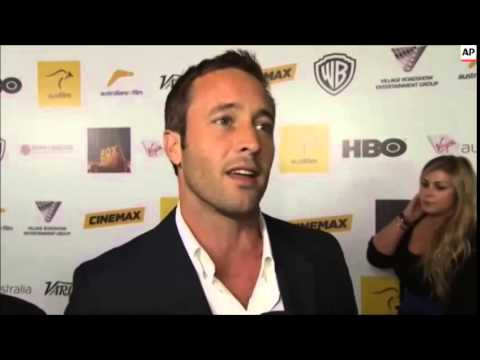 Alex O'Loughlin interview at Australians in Film 2013