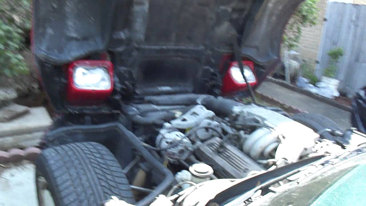 Chevrolet Corvette 1986 Location Of The Radiator Electric