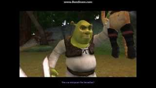 Shrek 2 Video Game: Walkthrough Part 6 Forest/Puss In