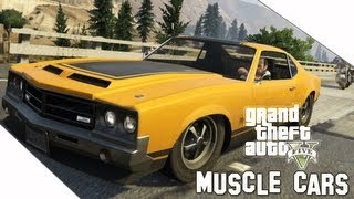 GTA V Muscle Cars Locations