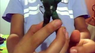 Como Hacer Un Muñeco Halo En Plastilina