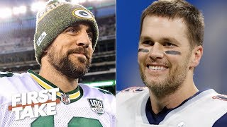 Aaron Rodgers can't be compared to Tom Brady as the best NFL quarterback – Will Cain   First Take