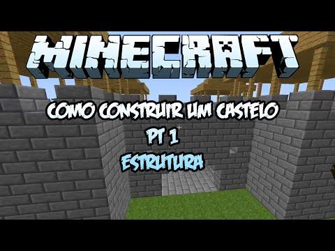 DuqueCraft [Construção] - Como construir um Castelo - Estrutura