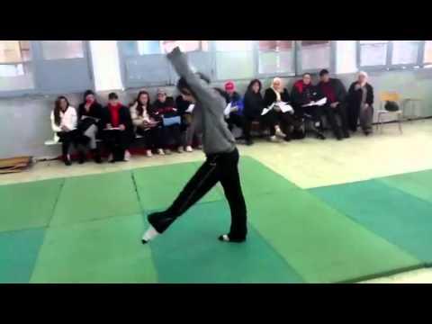 Enchainement Gymnastique Fille