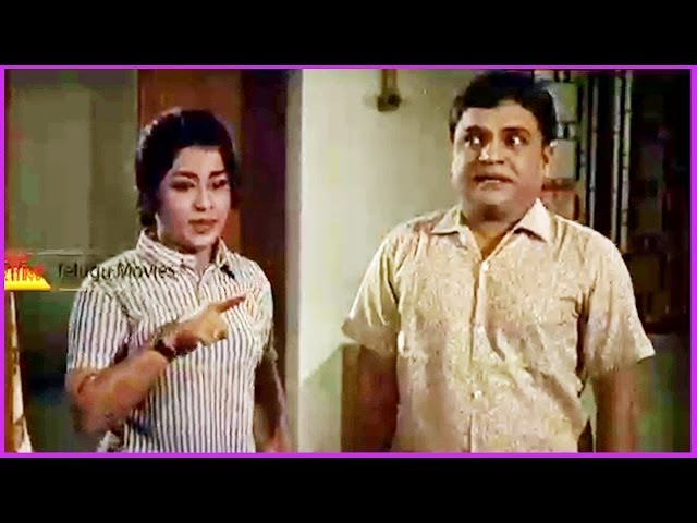 Padmanabham Comedy Scene - In Avey Kallu Telugu Movie