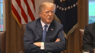Amid Russia tensions, Trump says timing of Syria strike is fluid