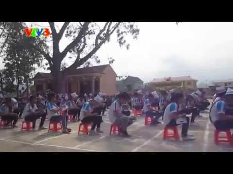 Rung Chuông Vàng Tại Trường THCS Quảng Tiên (do Minh Anh quay)
