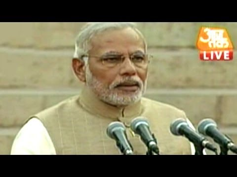Narendra Modi sworn-in as the 15th Prime Minister of India