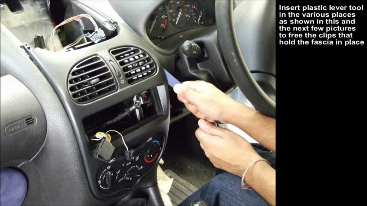 peugeot 206  2004  integration kit  installation guide