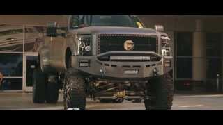 Ford F350 Dually On Fuel Full Blown