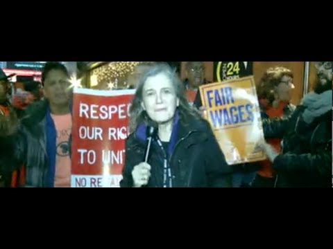Amy Goodman Reports From Fast-food Worker Strike at McDonald's in NYC
