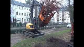 Transplantadora de árboles OPTIMAL 1400 - para embellecer ciudades