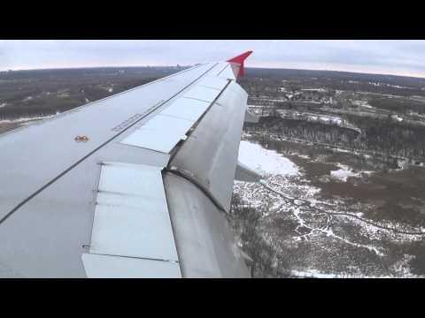 Spirit Airlines A320-232 [N609NK] Landing - KMSP Airport