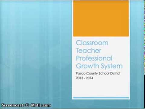 Pasco County Professional Growth System 2013-2014