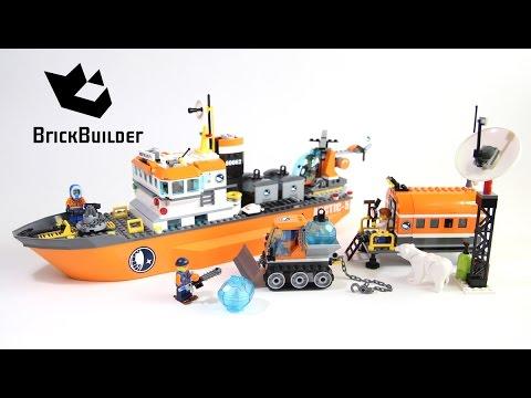 Lego City 60062 Arctic Icebreaker - Lego Speed Build