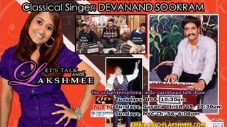 Devanand Sookram Trinidad Classical Artist interview on Let's Talk With Lakshmee