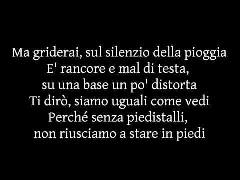 Lorenzo Fragola - Siamo Uguali (Testo)