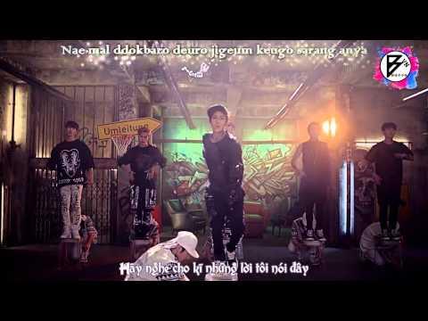 [MBFVN][Vietsub+Engsub+Kara] BOYFRIEND - Obsession MV Full HD