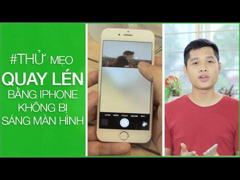 MangoTV | #THỬ mẹo quay lén bằng iPhone không bị sáng màn hình :D