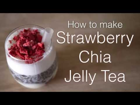 How to make Strawberry Jelly Tea
