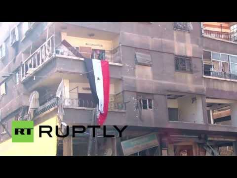 Syria: UN delivers food aid to Palestinian Yarmouk camp