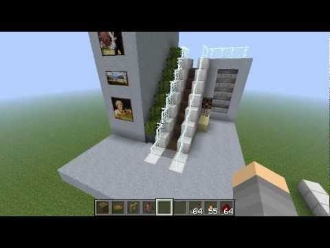 how to build lift in minecraft
