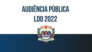 Audiência Pública LDO 2022 - no Facebook