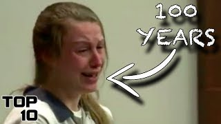 Top 10 Teenagers Who Freaked Out After Given A Life Sentence
