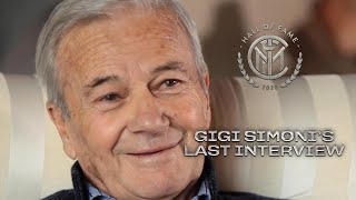GIGI SIMONI'S LAST INTERVIEW with INTER TV | INTER HALL OF FAME 2020 🙏🏻🖤💙???? [SUB ENG]
