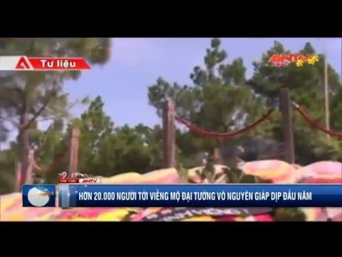 Clip: Hơn 20.000 người viếng mộ Đại tướng Võ Nguyên Giáp
