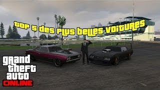 [Evenement] Top 5 Plus Belles Voitures De GTA Online #Ep1