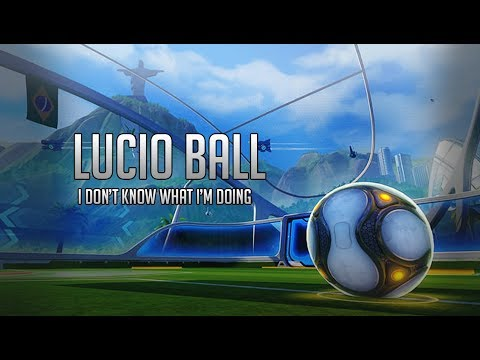 Overwatch Lucio Ball Gameplay | Well this happened