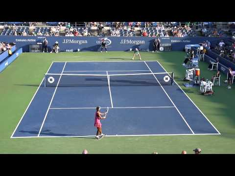 US Open 2013 First Set Victoria Duval vs Samantha Stosur HD 1080p
