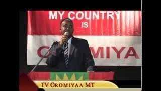 """TV Oromiyaa: Bobbaa """"I Am Oromo First"""" Magaalaalee Kaanaadaa Keessati Geggeefaman"""