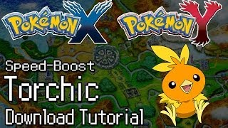 Pokemon X And Y How To Download Event Torchic With Speed